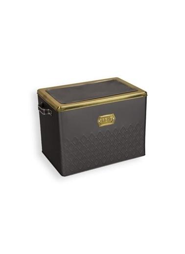 Sembol Ekmeklik (200 X 300 X 220) Siyah Gold Renkli